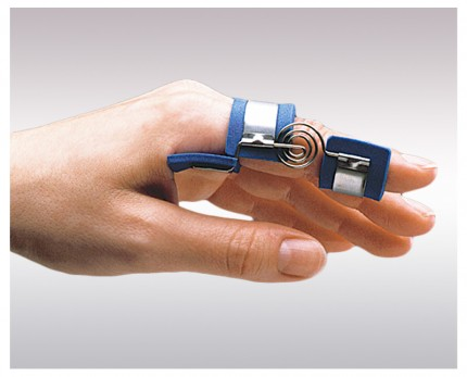 Finger splint for PIP joint straightening