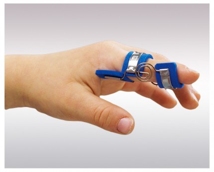 Finger splint for PIP joint straightening (children)