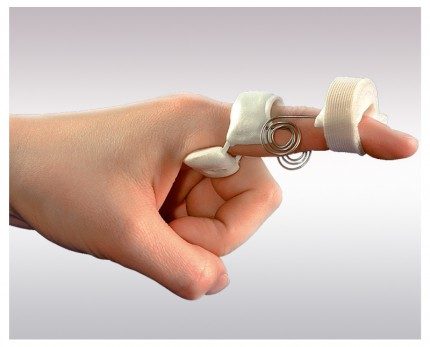 Dynamic splint for finger