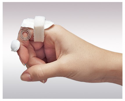 Splint for finger flexion functionality