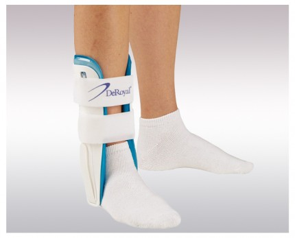 Ankle brace with air cushions