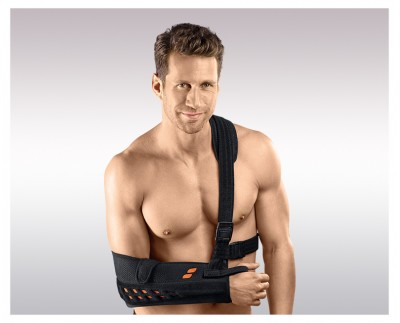 Shoulder orthosis with special stabilizing belt OMOHIT IMMOBIL