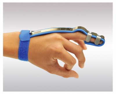 Splint for finger and thumb straightening