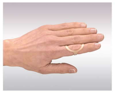 Splint to stabilize a finger joint