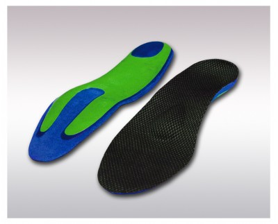 Individual corrective insoles for metatarsalgia