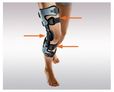 Sports knee brace V-Force