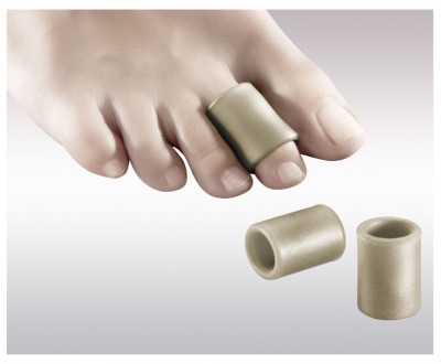 Silicone finger ring with silver