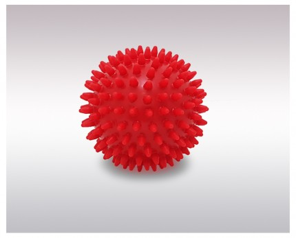 Medium hardness massage ball, 9 cm diameter