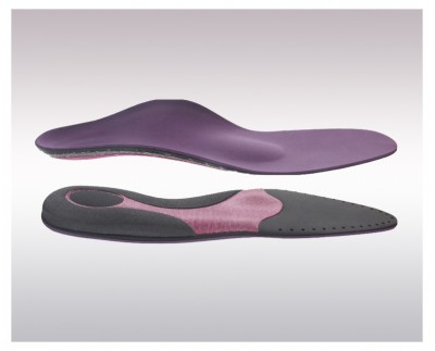 Individual instant insoles for comfort