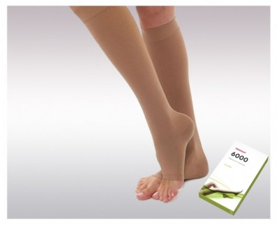 Knee high compression stockings ( Ccl.2)