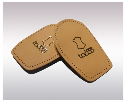 Leather heel pads Taccofix